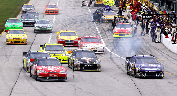 Races can be won or lost on pit roadin a lot of different ways