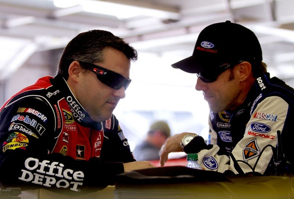 So it will be Jimmie Johnson versus Brad Keselowski for the NASCAR championship? Well, maybe ol' Smoke wants to weigh in himself, again....