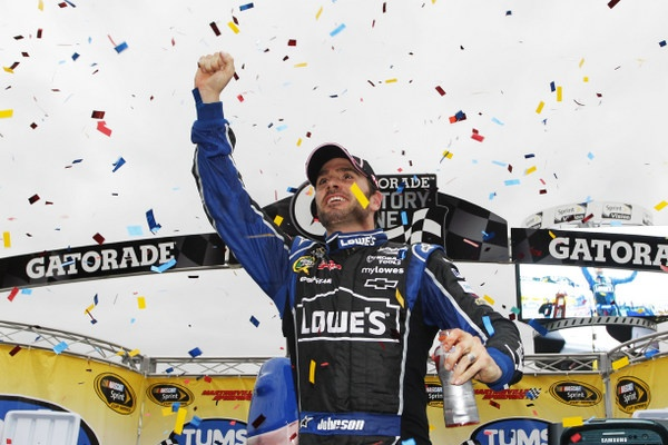 Again Brad Keselowski surprises. But Jimmie Johnson is back atop the championship standings and looking as powerful as ever