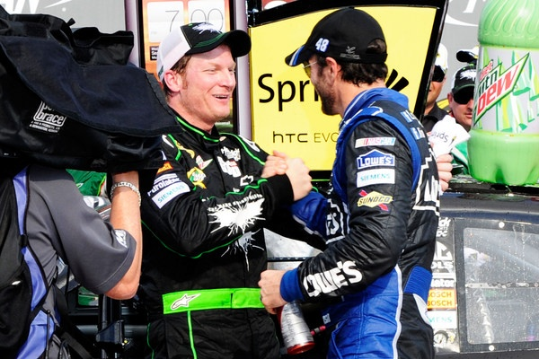 Junior's atop the NASCAR standings, Jimmie Five-Time wins a fourth Brickyard, yet is this sport regaining any momentum?