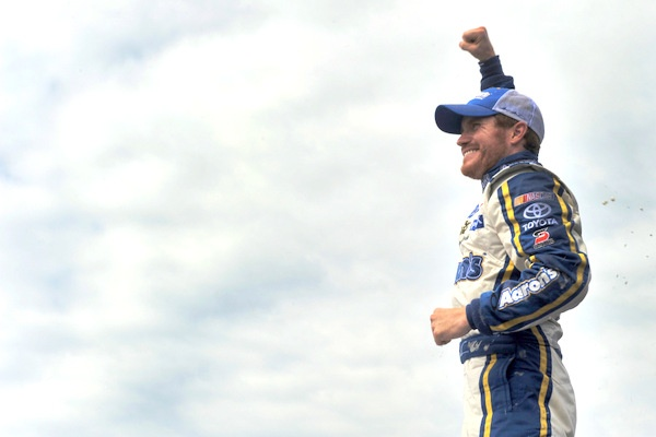 An emotional win for Brian Vickers, a career comeback