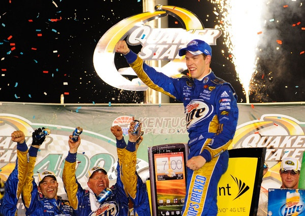 Brad Keselowski likes where he's at in the chase...but what to make of these slumping TV ratings?