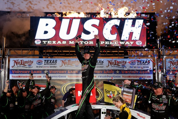 Texas, Texas, Texas....and Kyle Busch is the fastest man in the state