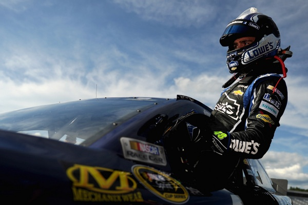 If Jimmie Johnson weren't on the tour, what might the NASCAR big picture look like?