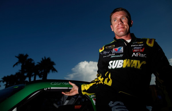 What the heck is wrong with Carl Edwards? Frustrations may be boiling over