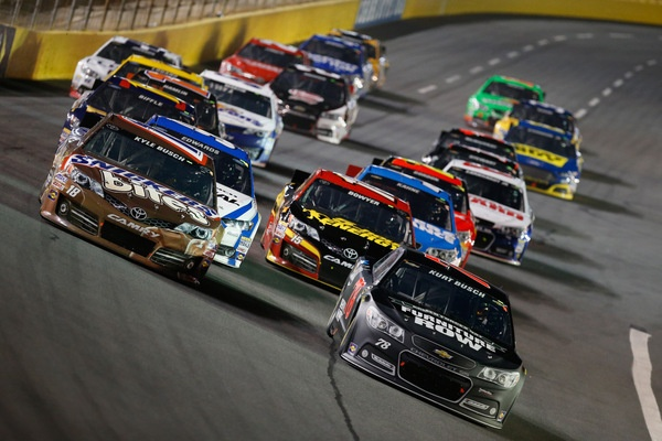 A maddening finish for the Busch brothers in the NASCAR All-Star