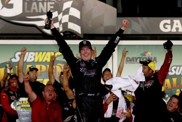 Kurt Busch's Take: 'This win is for James Finch and his guys'