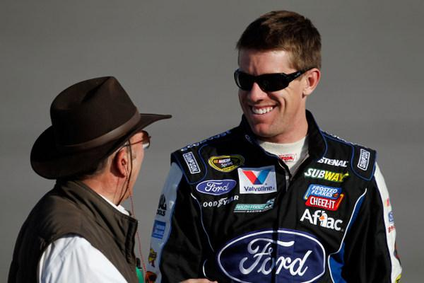 After Eric McClure's crash, will drivers become more proactive? Carl Edwards says yes