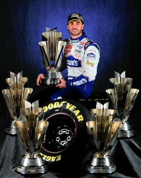 The best driver in NASCAR history? Jimmie Johnson's hard on the charge for yet another championship