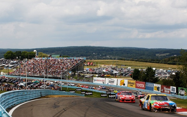 Brad Keselowski and Kyle Busch: a controversial finish at Watkins Glen