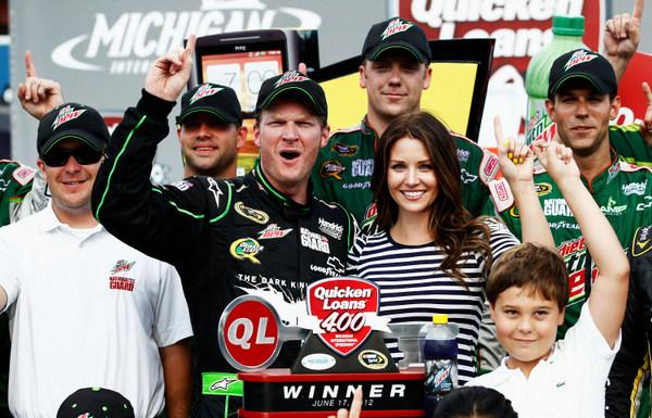 Dale Earnhardt Jr.: winning again, and now aiming at a championship?