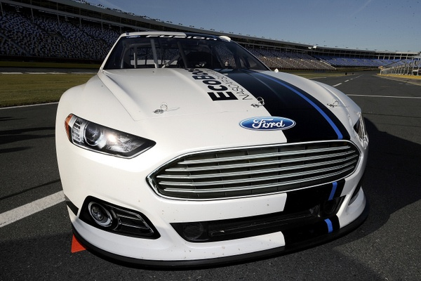 NASCAR relevels the playing field for the playoffs....and cranks up that 2013 project to high-gear. But these 2013 tests are still with plastic cars?