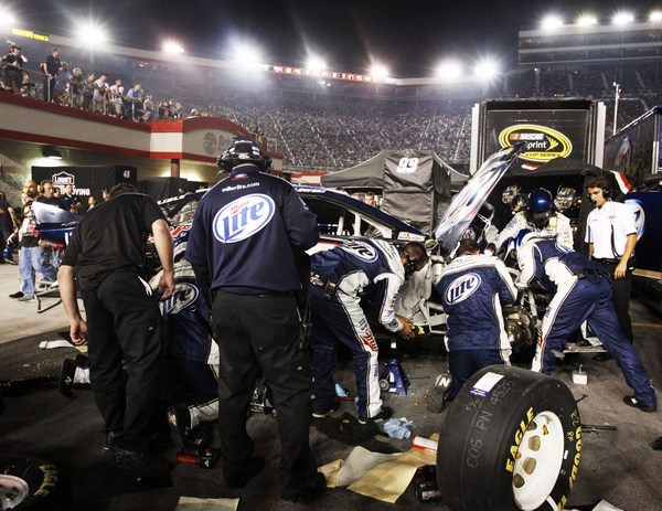 Brad Keselowski's back is to the wall...but then why hasn't NASCAR or Ford execs addressed the obvious Chevy-Toyota edge?
