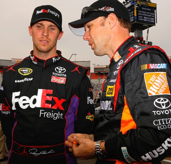 Denny Hamlin: Still sidelined, as doctors debate