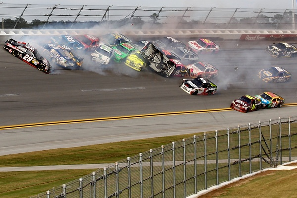 State of the Sport? Uh, and Daytona officials are blaming the drivers?