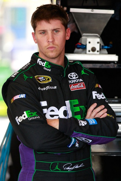 NASCAR officials moving fast to defuse Denny Hamlin controversy