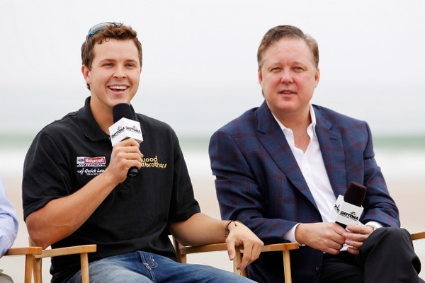 NASCAR's Brian France, on the state of the sport. But it's what isn't said that's enticing