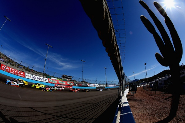 Round Nine: Jimmie Johnson on the pole for Sunday's Phoenix 500...and will tires again be a factor in this year's championship?