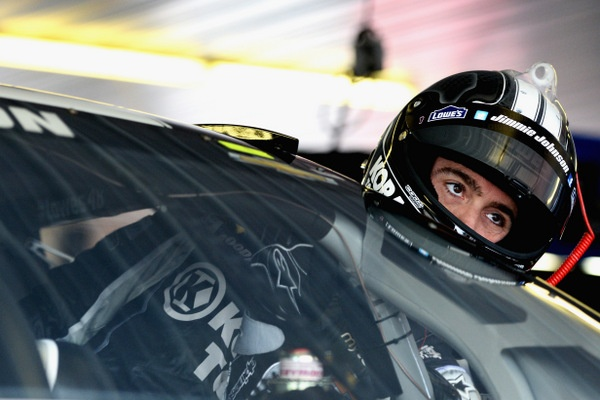 Jimmie Johnson's Revenge? Well, he doesn't stay mad, he just gets even