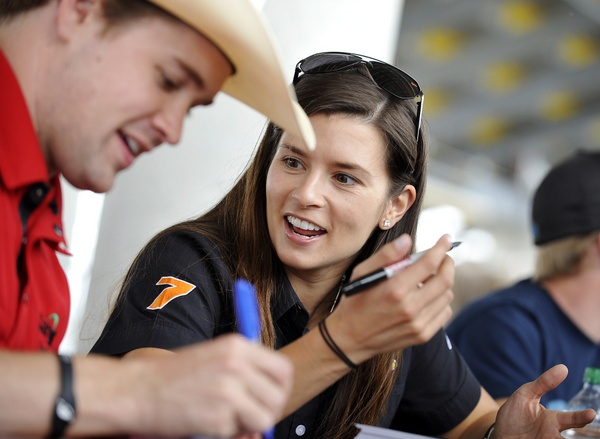 Danica? Stanica? Romance in the NASCAR garage....