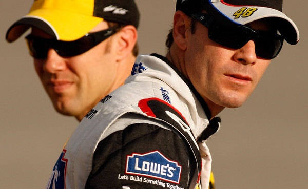 Spell it Dynasty....but, yes, you can ask if yet another Jimmie Johnson NASCAR championship is really good for this sport...