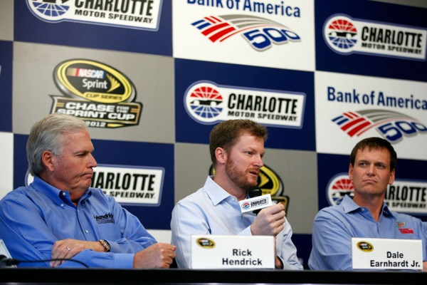 Great news: Dale Earnhardt Jr. has only one more test to pass before returning to action