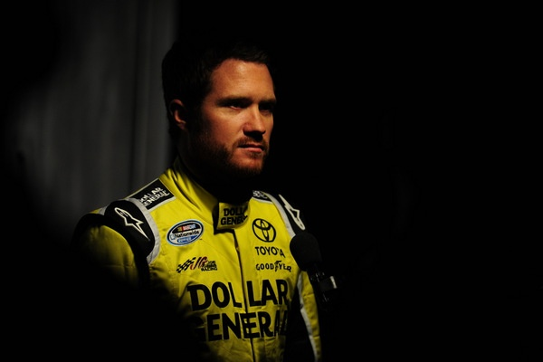 Upon further review, Joe Gibbs decides on Brian Vickers to fill in for Denny Hamlin
