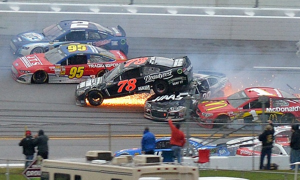 David Ragan wins the Talladega 500 in a stunning 'David-versus-Goliath' finish