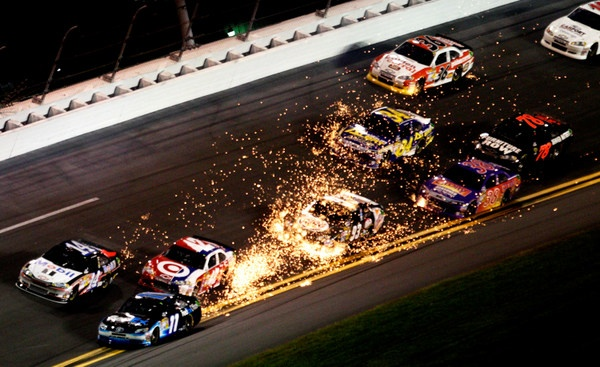 Daytona in review? Let's go to the videos -- Ouch!