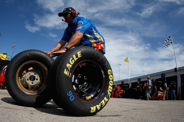 Kansas Redux: Fix the track? Or bring new tires?