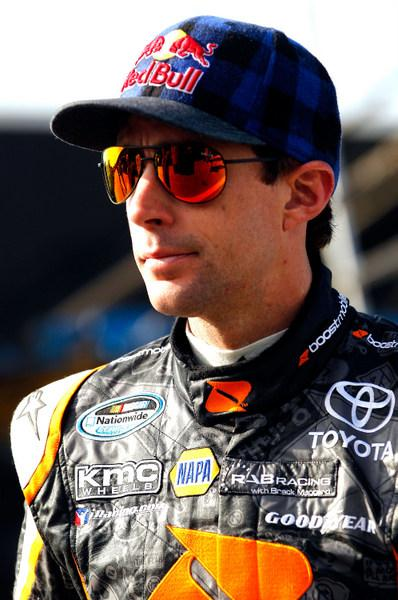 Greg Biffle: atop the Sprint Cup standings, and on the Southern 500 pole