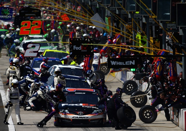 Pondering NASCAR's pit crew championship: and first, who are these guys? If they win races, why aren't they 'stars'?