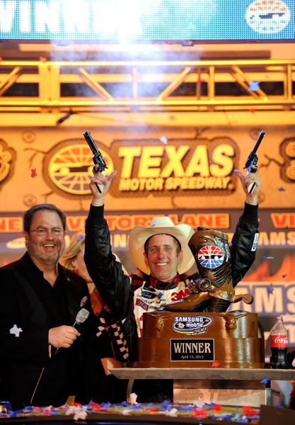Yes, Texas is FAST, 'ludicrous fast,' Kurt Busch says. But what about this NRA thing? Is anything too controversial for this sport's marketers?