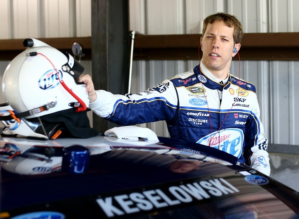 Brad Keselowski has just a few questions here......