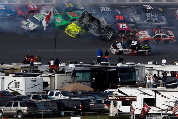 As stock car racing's snowball continues its run: Will Talladega be a chase-buster for Jimmie Johnson?