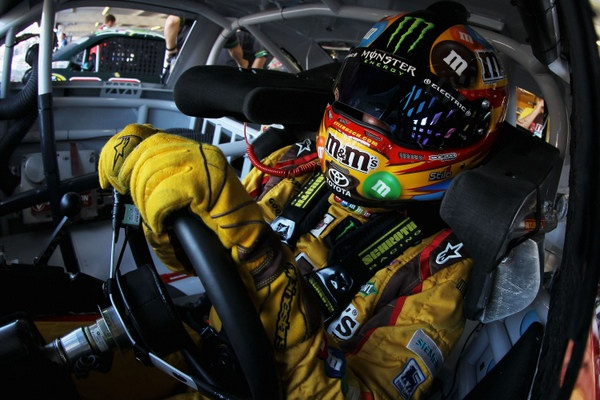 Brad vs Jimmie, Round 9, but Kyle Busch may crash their party