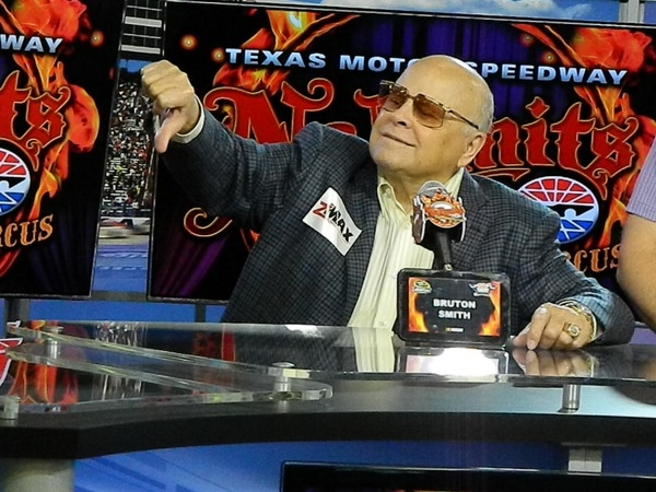 Oh, that wild and crazy Bruton Smith: what's he up to next?