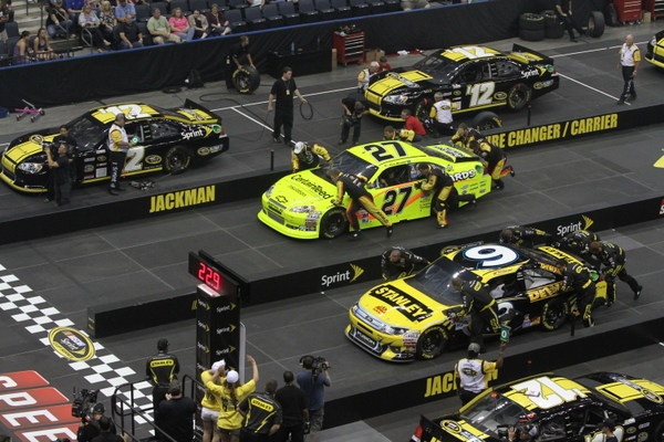 Texas, guns, the NRA, NASCAR's annual pit crew championship, and what's up with Ford teams...and is John Menard planning a big move?
